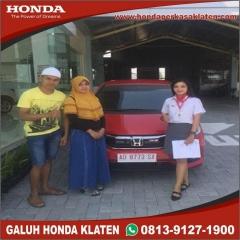 Serah Terima Galuh Dealer Honda Klaten