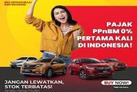 Promo Pajak PPNBM 0% Beli Mobil Baru Honda Di Dealer Honda Perkasa Klaten